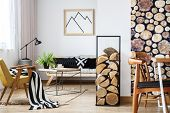 Cozy Trendy Winter Interior Design poster