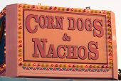 Corn Dogs And Nachos Sign