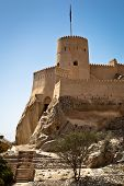 image of oman  - The Nakhl Fort in Al Batinah - JPG