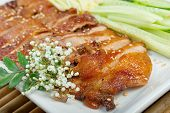 Roasted Duck, Chinese Style  . Shallow Depth-of-field.