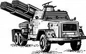 Artillería reactiva
