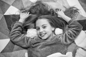Free Guided Meditation And Relaxation Scripts For Kids. Girl Little Child Relax At Home. Evening Rel poster