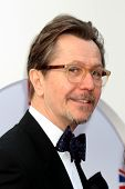 LOS ANGELES - FEB 24:  Gary Oldman arrives at the GREAT British Film Reception at the British Consul
