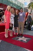 LOS ANGELES - FEB 22:  Malin Akerman, Jennifer Aniston; Kathryn Hahn, Adam Sandler at the Jennifer Aniston Hollywood Walk of Fame Ceremony at the W Hollywood on February 22, 2012 in Los Angeles, CA.