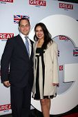 LOS ANGELES - FEB 24:  Lord Frederick Windsor, Sophie Winkleman arrives at the GREAT British Film Reception at the British Consul General�?�¢??s Residence on February 24, 2012 in Los Angeles, CA.