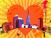 Love The City Illustration