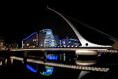 stock photo of calatrava  - DUBLIN - JPG