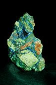 Malachite Azurite Conglomerate Found In Arizona Us