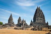 stock photo of hamsa  - Candi Prambanan or Candi Rara Jonggrang is a 9th - JPG