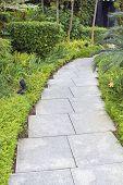 Granite Stone Garden Path