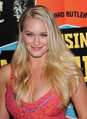LOS ANGELES - OCT 18:  Leven Rambin arrives to