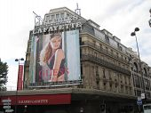 Galeries Lafayette In Paris, France