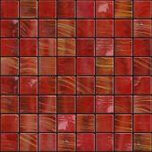Dark Red Tiles