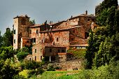 foto of salvatore  - Architectural detail of Montalcino Fortress - JPG