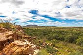 Outback Australia occidental