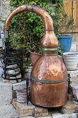 Destilador de aguardiente