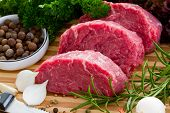 Beef, steak meat - barbecue, grill