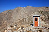 Small House At Ancient Thira