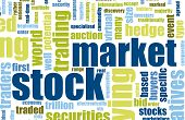 picture of stock market data  - Stock Market Terms As a Abstract Background - JPG