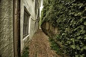 Alleyway in Charleston, South Carolina
