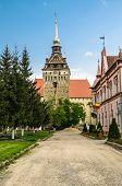 The evangelical church of Saschiz village, Romania