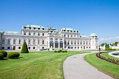 Belvedere Palace, Wien, Autria