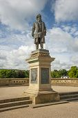 Statue to Sir Titus Salt, in Saltaire