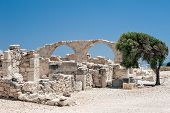 Ruins Of An Early Christian Basilica On Cyprus