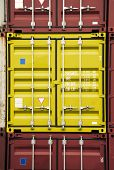 Container Yellow Color