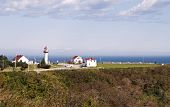 Lighthouse In The Gulf Of St. Lawrence
