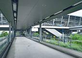 Covered bridge corridor