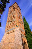 Aragon Teruel Torre de San Martin Mudejar UNESCO heritage in Spain