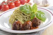 Spaghetti With Italian Meat Balls