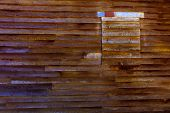 stock photo of west village  - California old far west wooden textures in USA - JPG