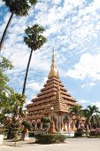Thai Temple In Khon Kaen, Thailand