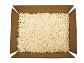 Packing Peanuts Cardboard Box
