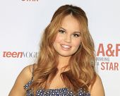 LOS ANGELES - FEB 22:  Debby Ryan at the Abercrombie & Fitch 'The Making of a Star' Spring Campaign Party  at Siren Studios on February 22, 2014 in Los Angeles, CA