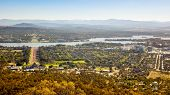 An image of the capital city of Australia - Canberra