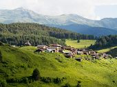 picture of greater  - Shenako village on the southern slope of the Greater Caucasus - JPG