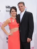 LAS VEGAS - MAY 18:  Danica McKellar & Mike Verta arrives to the Billboard Music Awards 2014  on May