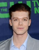 LOS ANGELES - JUL 17:  Cameron Monaghan arrives to the CBS-CW-Showtime Summer TCA Press Tour 2014  o
