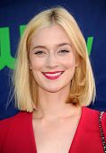 LOS ANGELES - JUL 17:  Caitlin FitzGerald arrives to the CBS-CW-Showtime Summer TCA Press Tour 2014