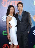 LOS ANGELES - JUL 17:  Maggie Q & Dylan McDermott arrives to the CBS-CW-Showtime Summer TCA Press Tour 2014  on July7, 2014 in West Hollywood, CA.