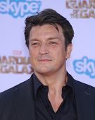 LOS ANGELES - JUL 21:  Nathan Fillion arrives to the