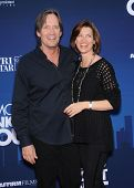 LOS ANGELES - APR 29:  Kevin Sorbo & Sam Jenkins arrives to the