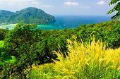 Azure Bay Idyllic Panorama