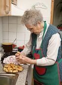 abuela y las tortas