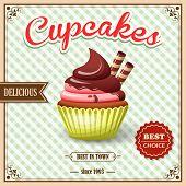 Cupcake cafe poster