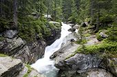 High Tatras - waterfalls - Studenovodske vodopady - Slovakia
