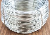 Coil of metal wire
